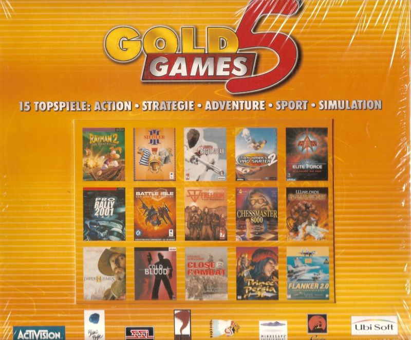 Gold Games 5 Windows Front Cover