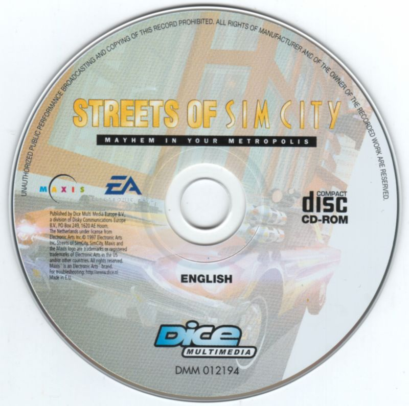 Streets of SimCity Windows Media