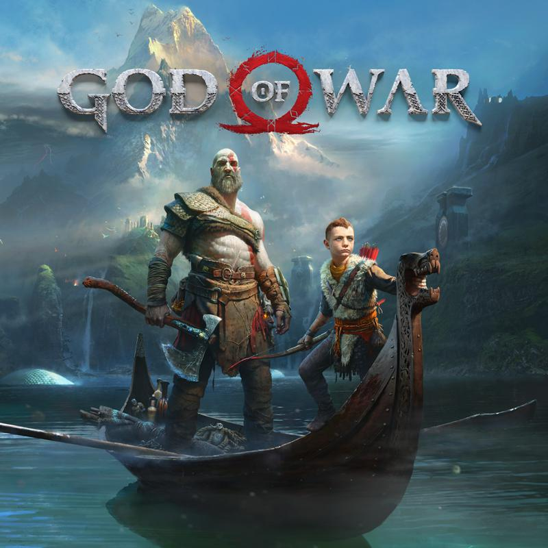 God of War PlayStation 4 Front Cover
