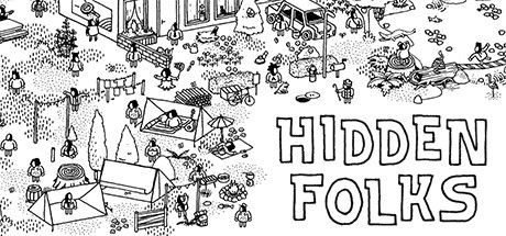 Hidden Folks Linux Front Cover 1st version