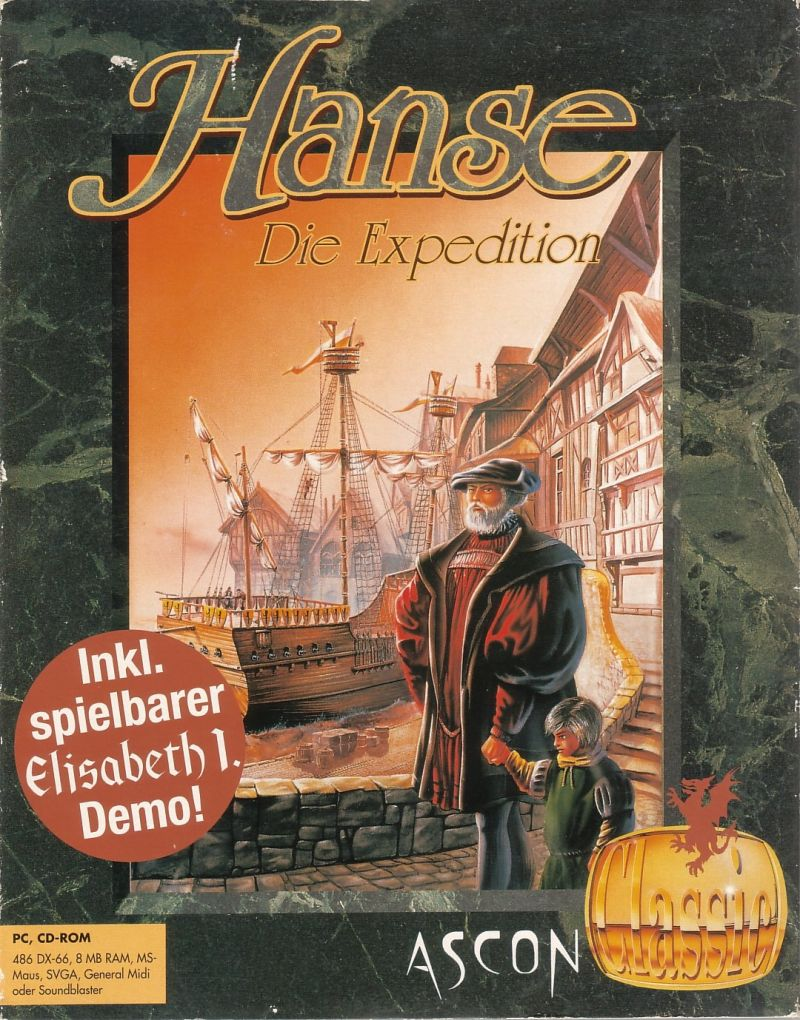 Hanse: Die Expedition DOS Front Cover