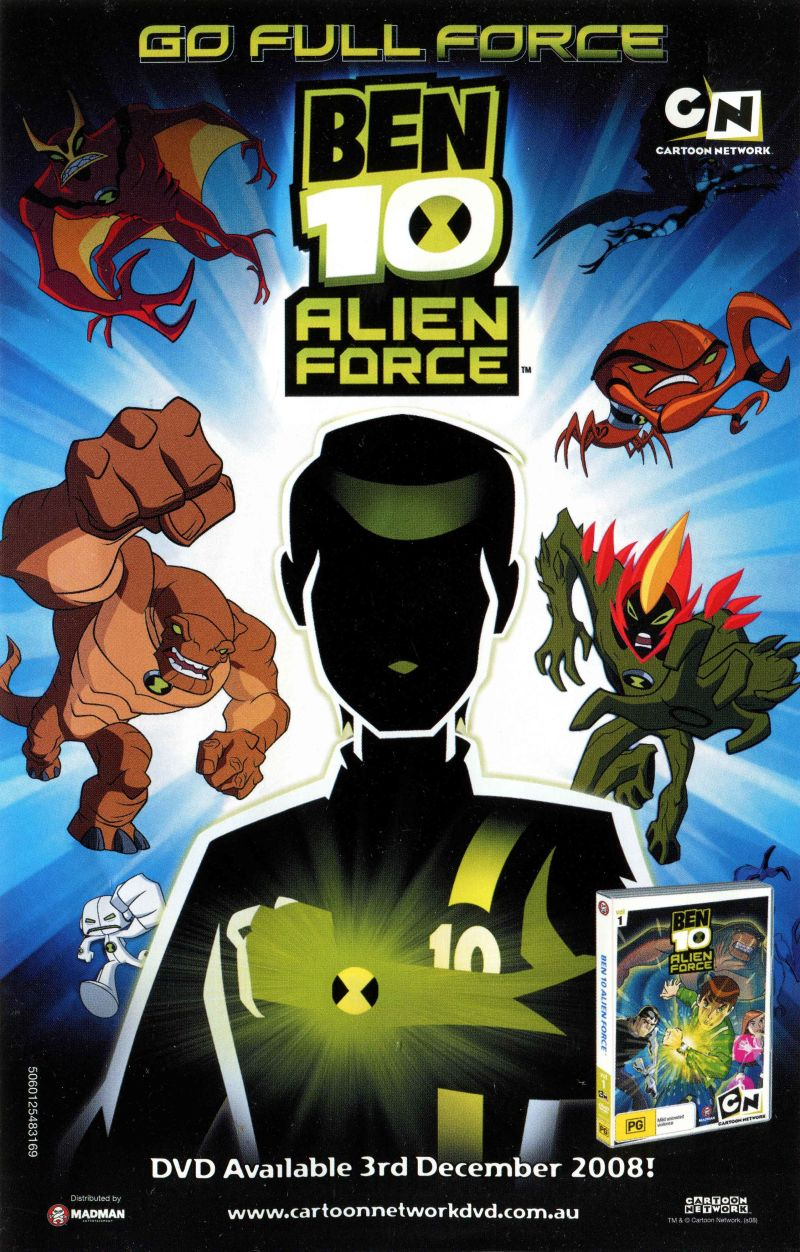 Ben 10: Alien Force (2008) PlayStation 2 box cover art