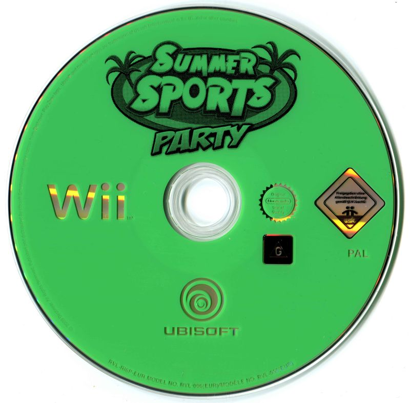 Wii Summer Sports  Island Sports Party