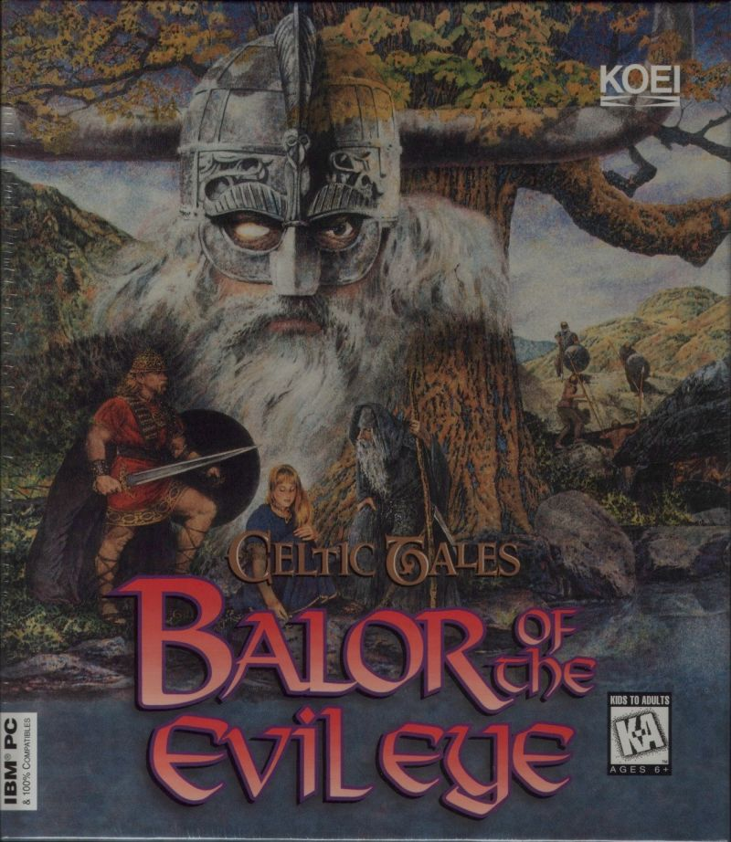 Celtic Tales: Balor of the Evil Eye DOS Front Cover