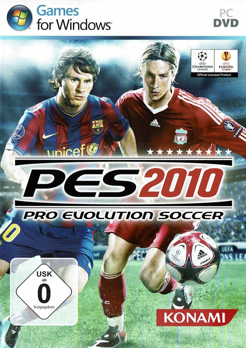PES 2010 / Pro Evolution Soccer 2010 (2009) PC | Repack от R.G. Механики