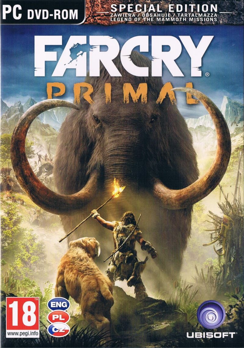 Far Cry: Primal Windows Front Cover