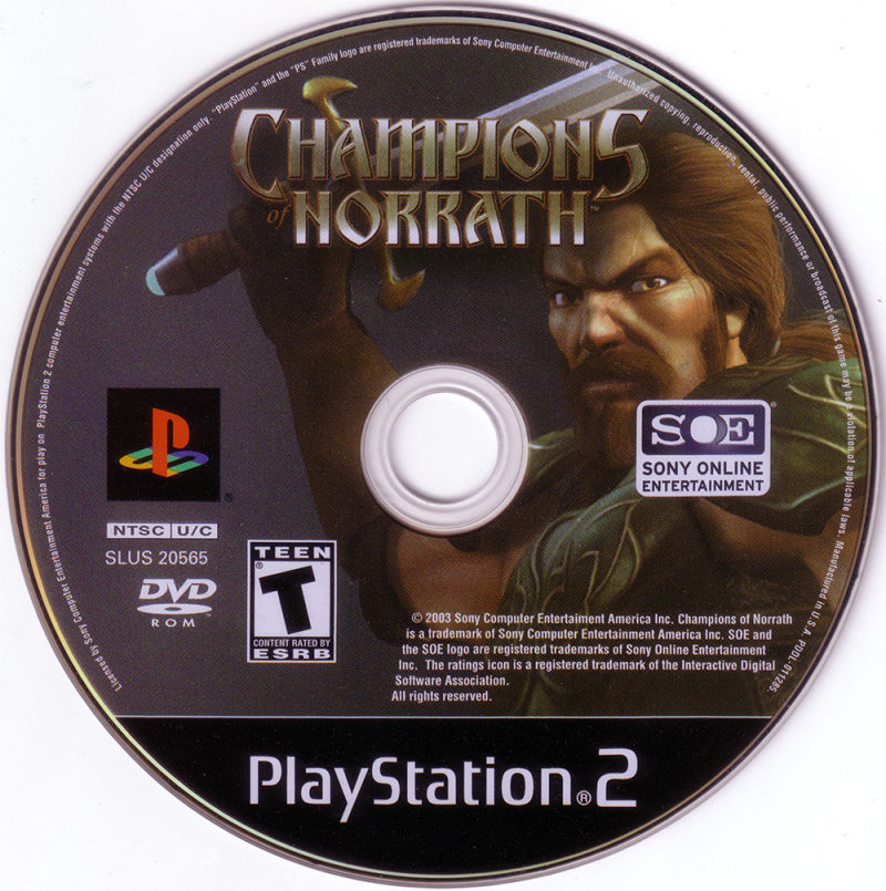 Champions of Norrath PlayStation 2 Media