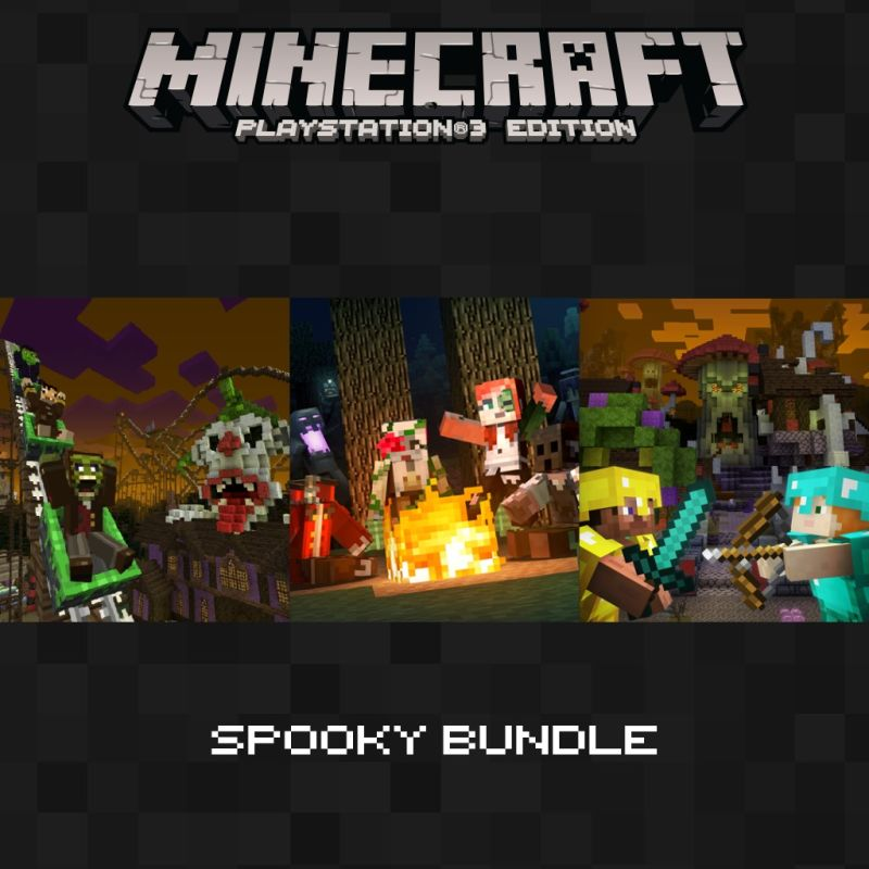 Book Cover Craft Xbox : Minecraft xbox one edition spooky bundle for