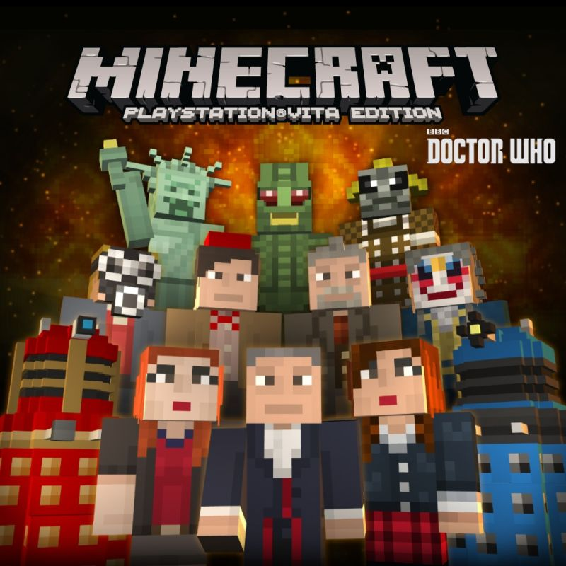 Book Cover Craft Xbox One : Minecraft xbox one edition doctor who skins volume i