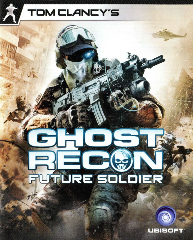 Tom Clancy's Ghost Recon: Future Soldier PlayStation 3 Manual Front