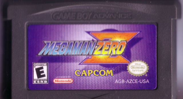 Mega Man Zero Game Boy Advance Media