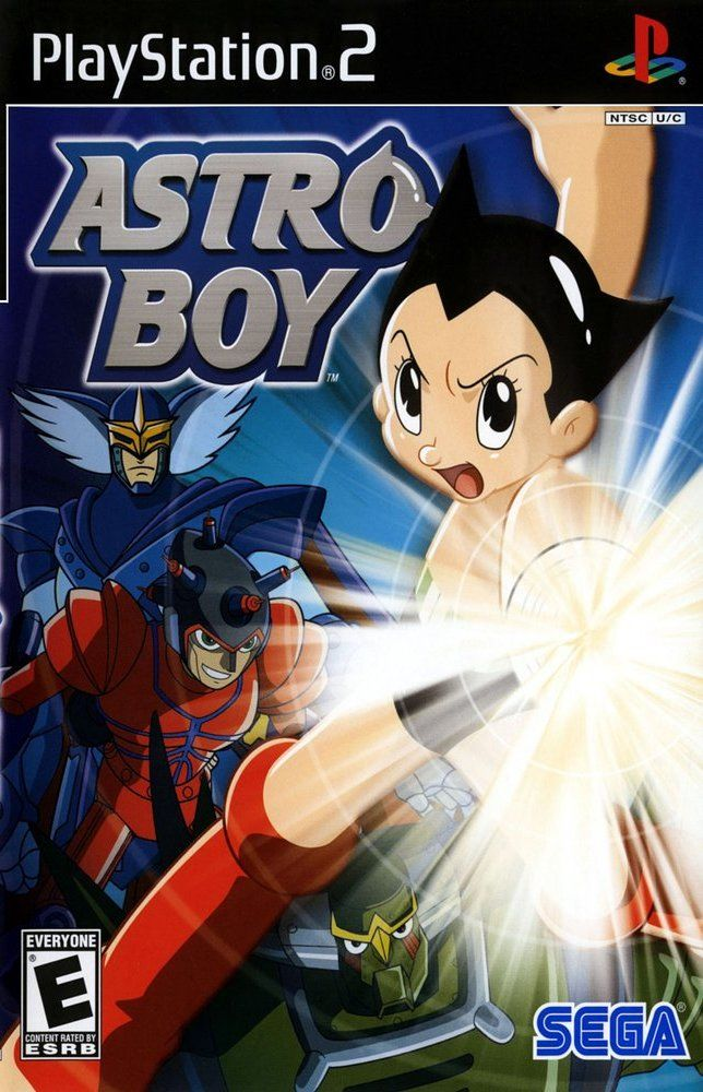 Astro Boy PlayStation 2 Front Cover