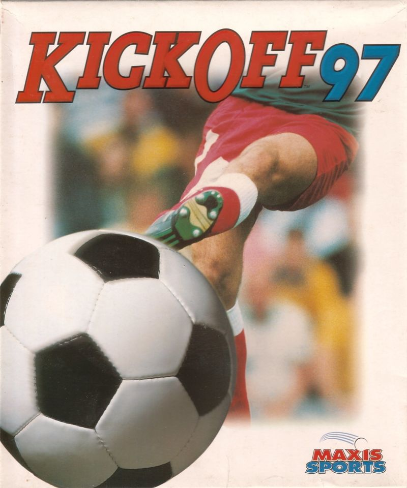 Kick Off 97 DOS Front Cover