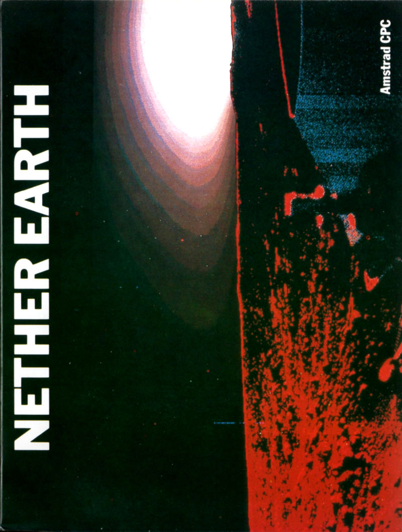 Nether Earth Amstrad CPC Front Cover