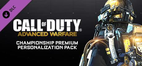 Call of Duty: Advanced Warfare - Championship Premium Personalization Pack