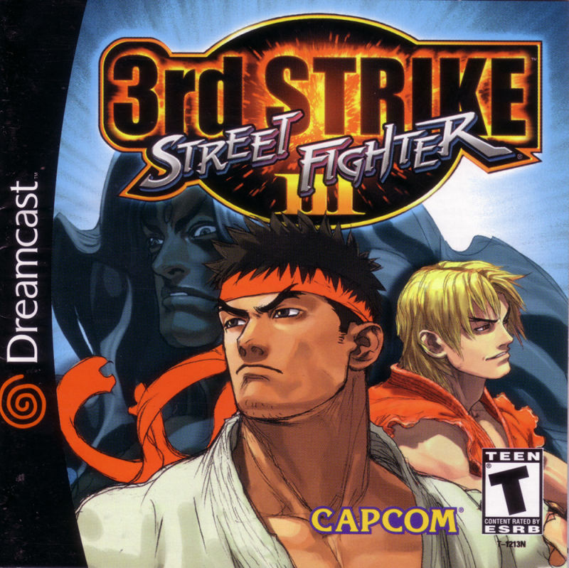 Street Fighter III: 3rd Strike Dreamcast Front Cover