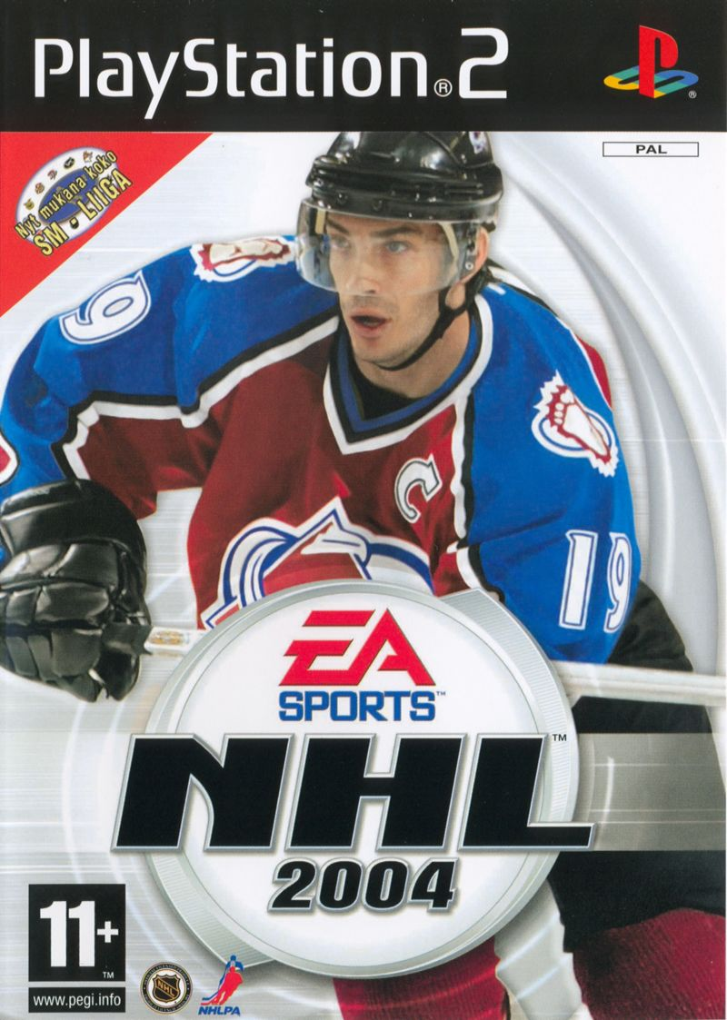 NHL 2004 PlayStation 2 Front Cover