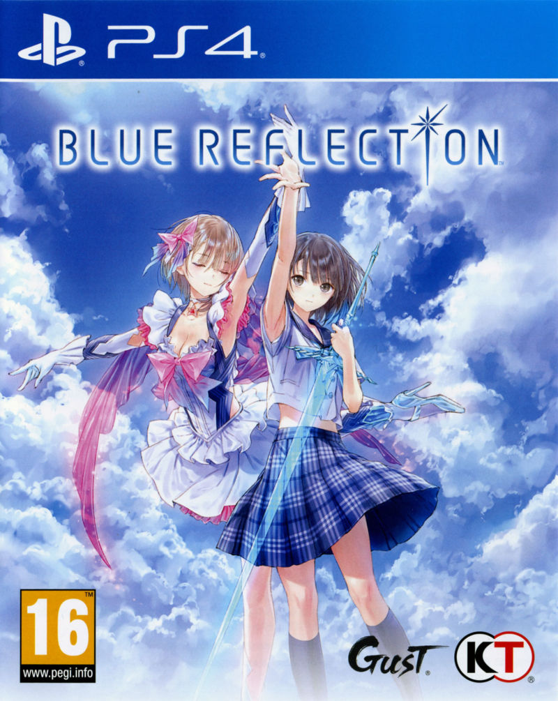 Blue Reflection (2017) PlayStation 4 box cover art - MobyGames