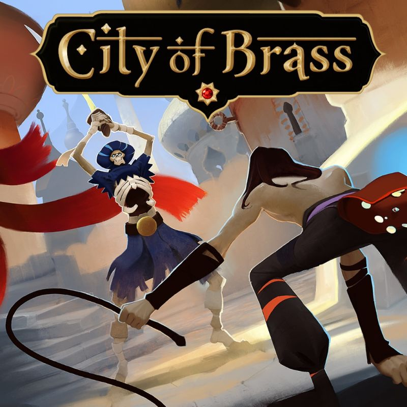 City of Brass (2018) PlayStation 4 box cover art - MobyGames
