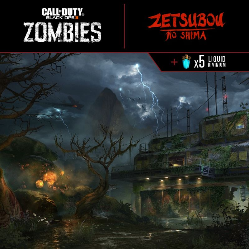 Call of Duty: Black Ops III - Zetsubou No Shima Zombies Map