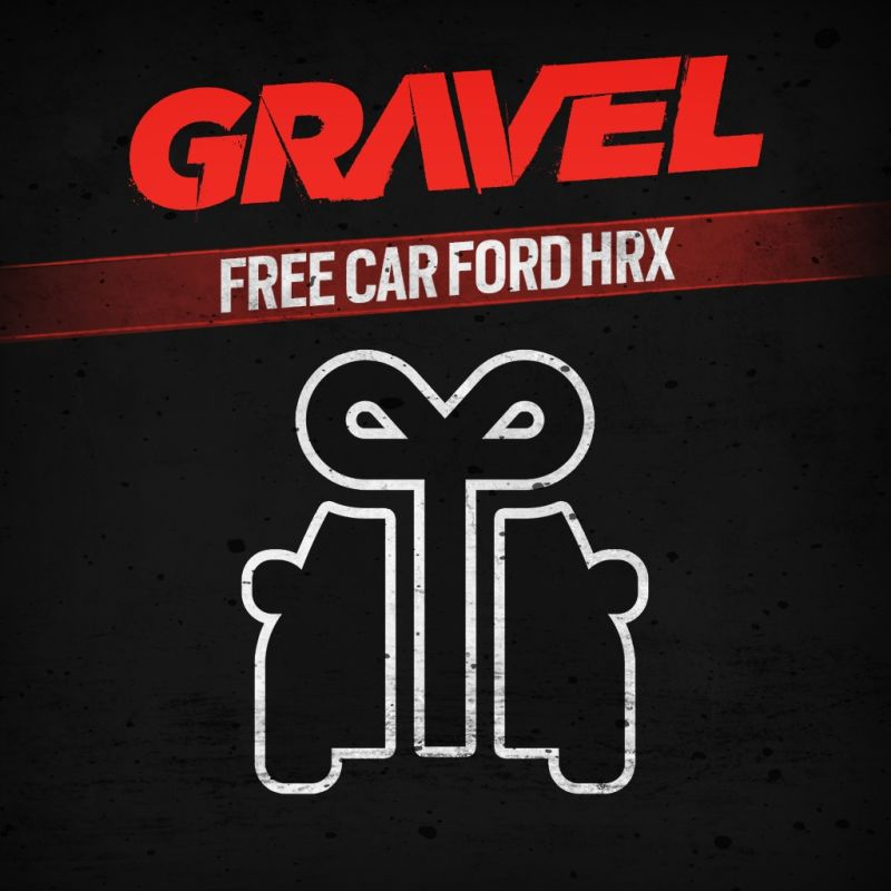Gravel: Free Car Ford HRX (2018) PlayStation 4 box cover ...