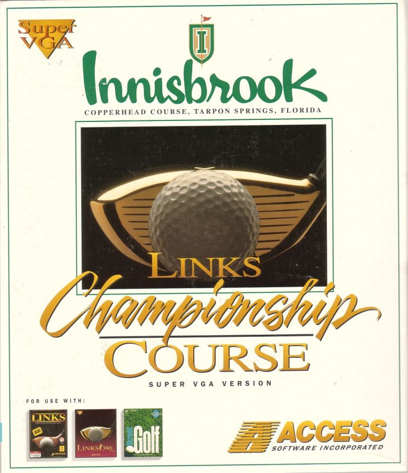Links: Championship Course: Innisbrook - Copperhead DOS Front Cover