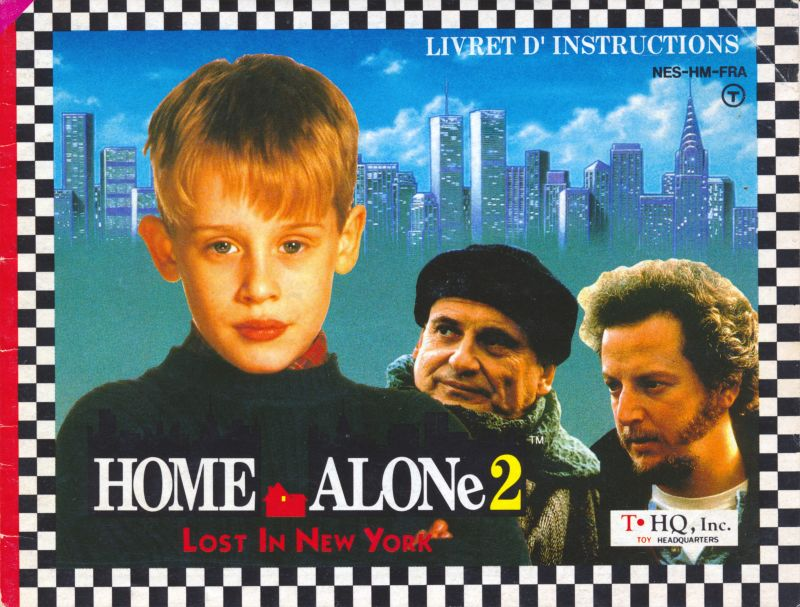 Home Alone 2 Lost In New York 1992 Nes Box Cover Art Mobygames