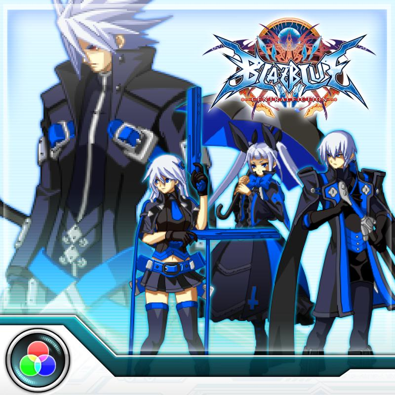 BlazBlue: Central Fiction - PS4 System Colors for