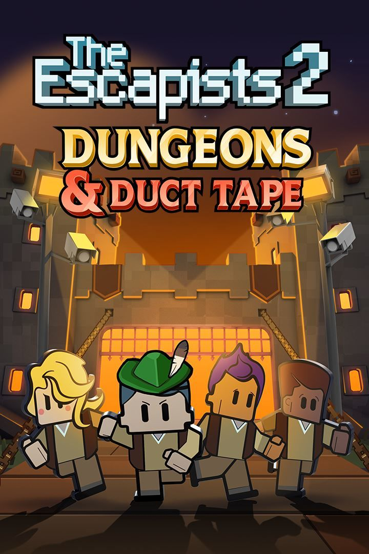 The Escapists 2 Dungeons And Duct Tape 2018 Xbox One Box