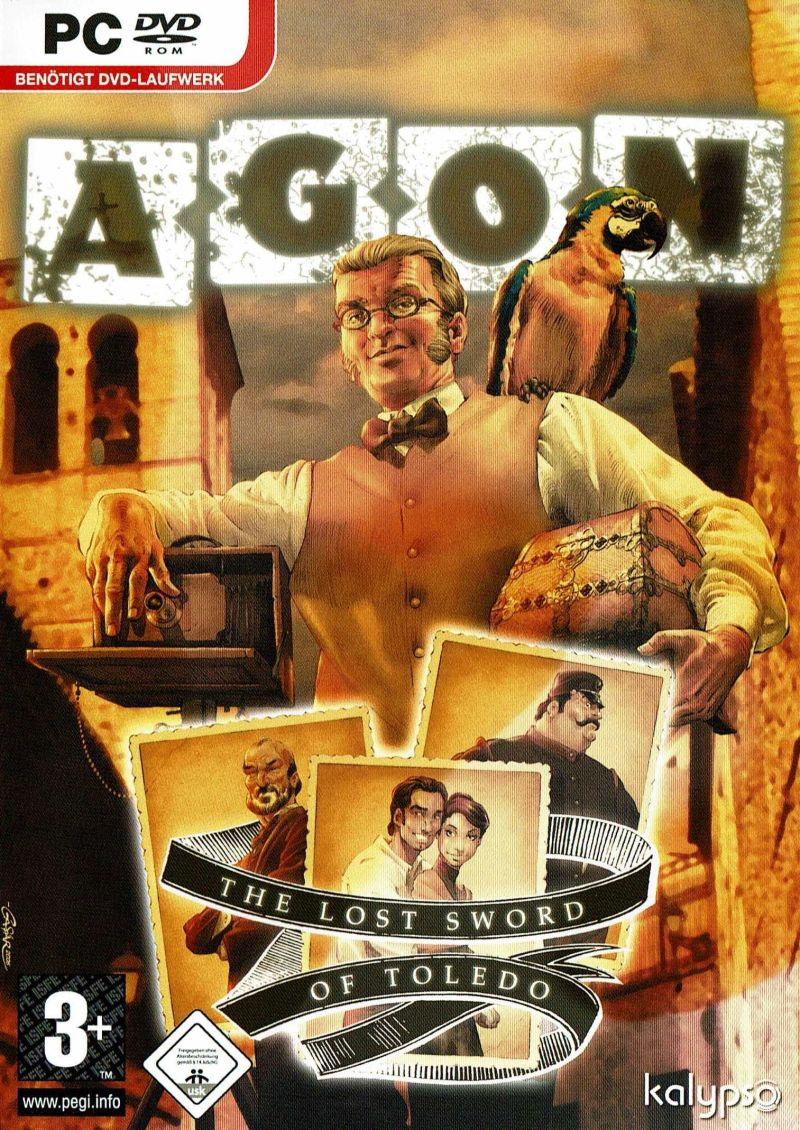 AGON: The Lost Sword of Toledo Windows Front Cover