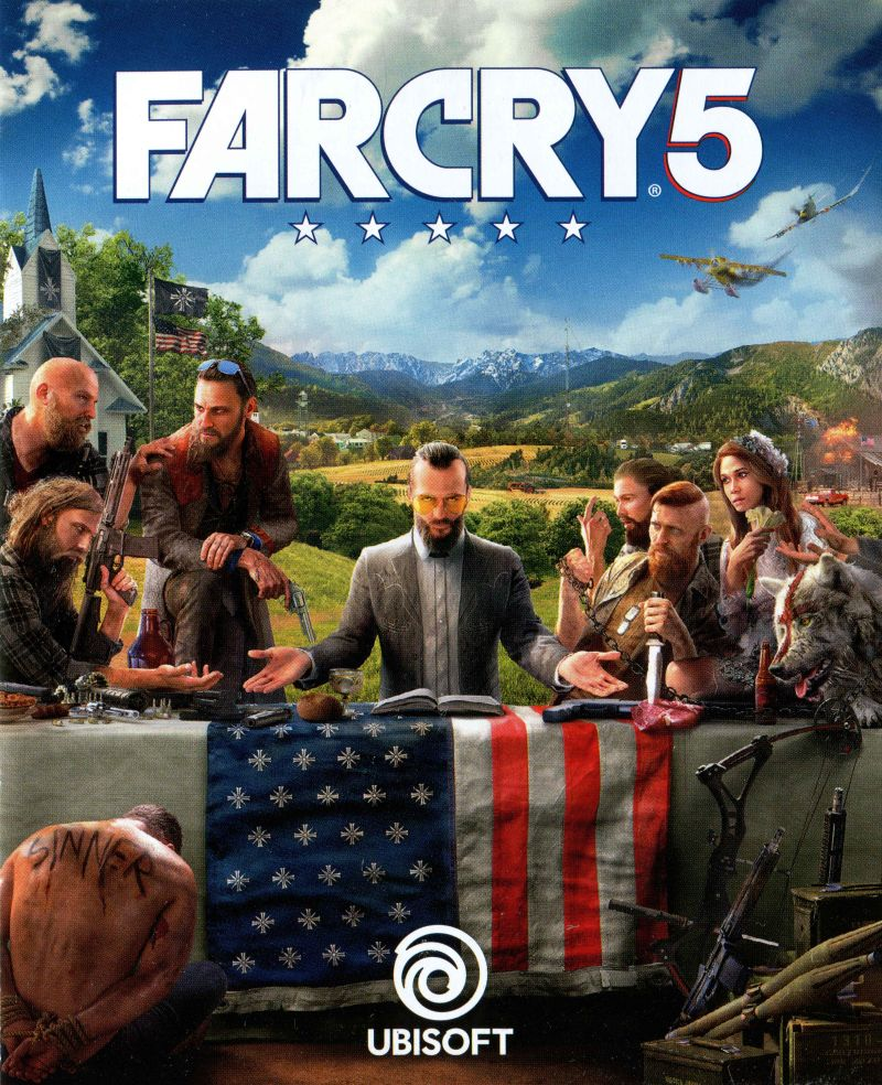 Far Cry 5 2018 Box Cover Art Mobygames