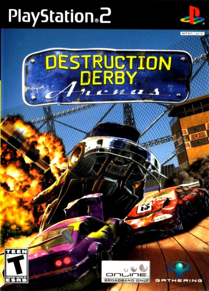 Destruction Derby: Arenas PlayStation 2 Front Cover