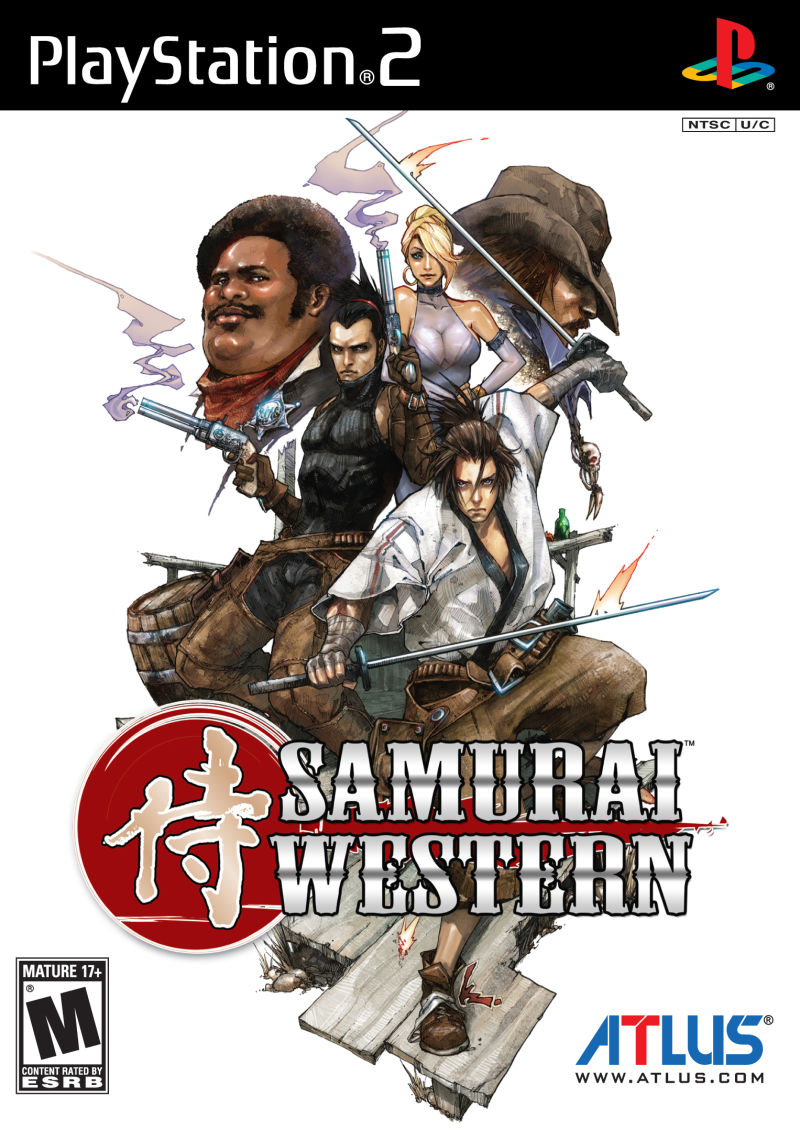 Samurai Western PlayStation 2 Front Cover