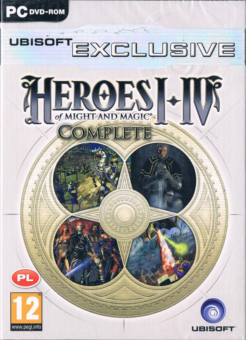 Heroes of Might and Magic I-IV: Complete