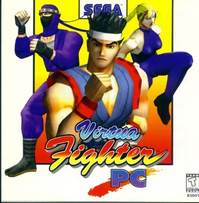 Virtua Fighter Remix Windows Front Cover