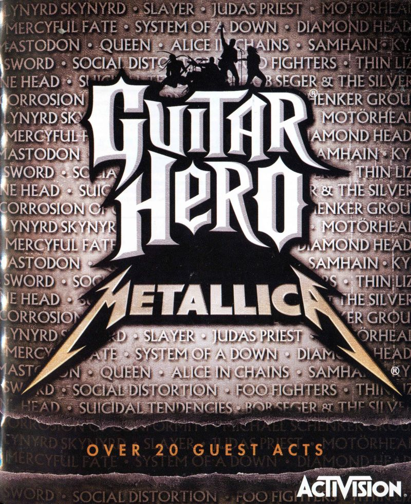 Guitar Hero Metallica Manual Code