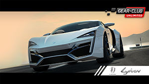 Club Unlimited: Super Car W Motors Lykan Hypersport Nintendo Switch Front Cover