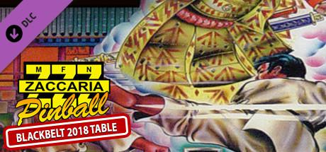 Zaccaria Pinball: Blackbelt 2018 Table Linux Front Cover