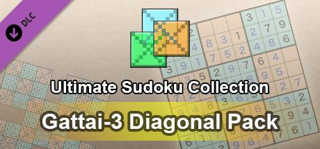 Ultimate Sudoku Collection: Gattai-3 Diagonal Pack
