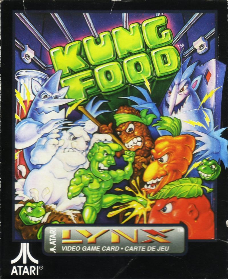 Kung Food Lynx Front Cover