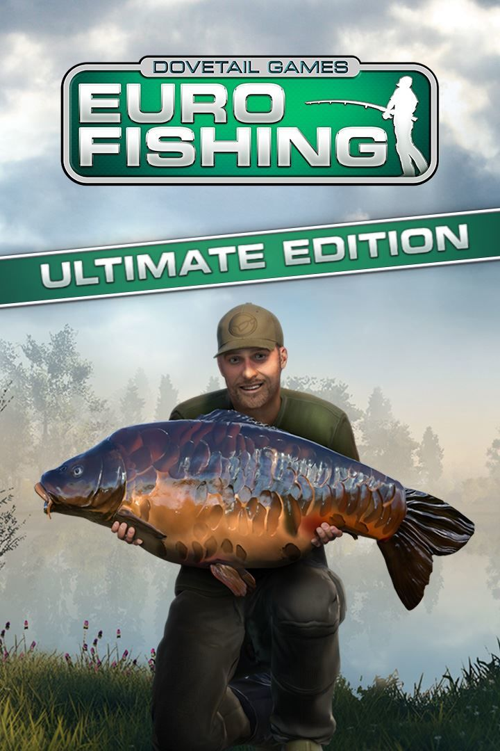 Euro fishing ultimate edition 2018 playstation 4 box for Fishing xbox one