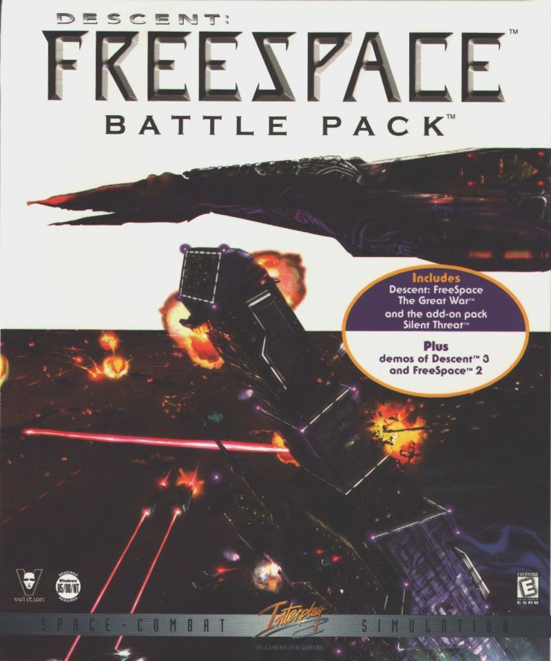 Descent: Freespace - Battle Pack Windows Front Cover