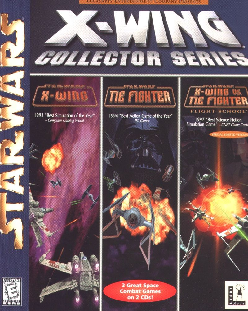 Star Wars X Wing Collector Series For Windows 1998 Mobygames