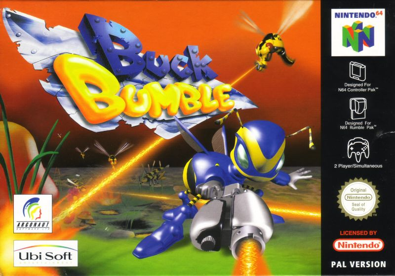 Buck Bumble Nintendo 64 Front Cover