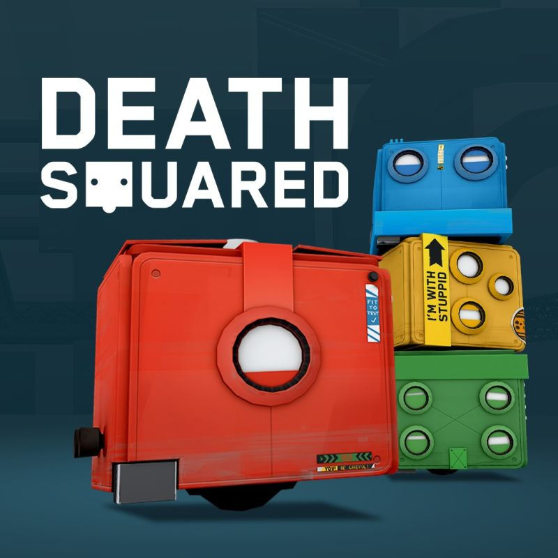 Death Squared PlayStation 4 Front Cover