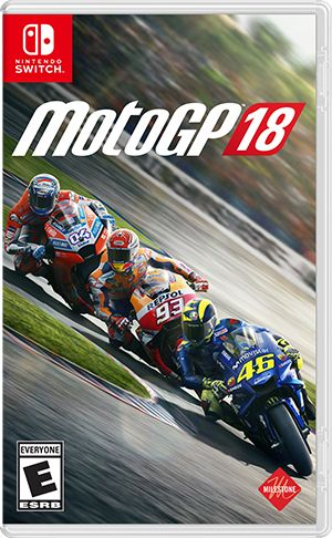 MotoGP 18 Nintendo Switch Front Cover 1st version