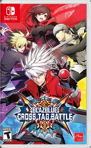 BlazBlue: Cross Tag Battle Nintendo Switch Front Cover
