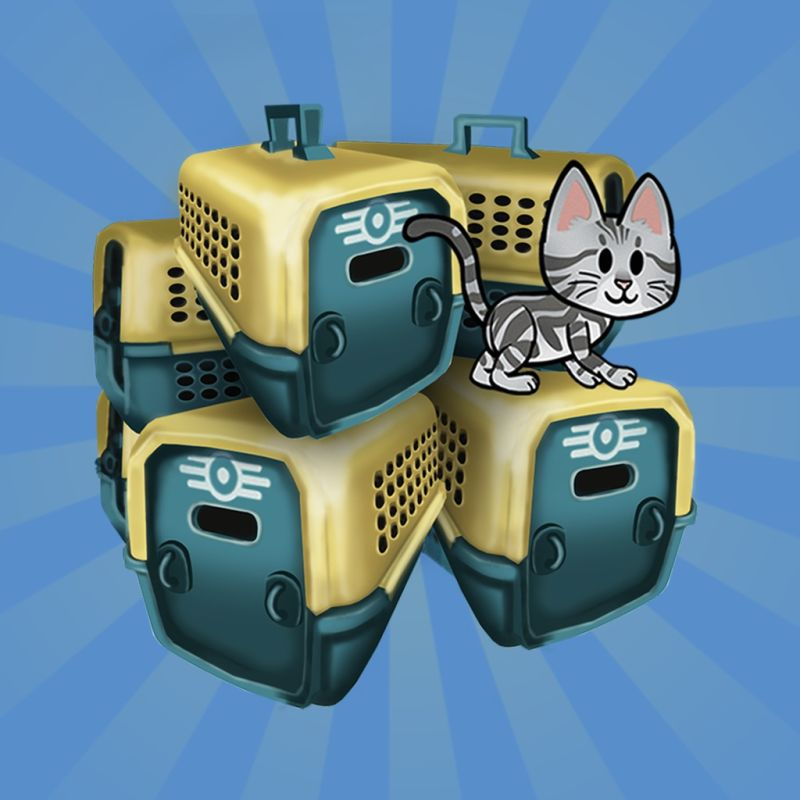 Fallout Shelter: Bundle of 5 Pet Carriers PlayStation 4 Front Cover