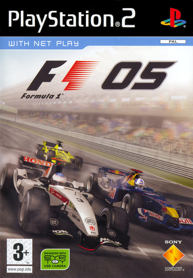 Formula One 05 PlayStation 2 Front Cover