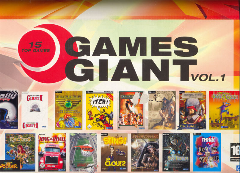 15 Giant Games Vol.1 Windows Front Cover